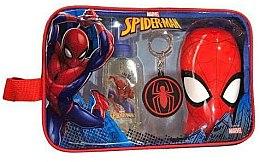 Парфюми, Парфюмерия, козметика Marvel Spiderman - Комплект (тоал. вода/90ml + душ гел/300ml + ключодър. + несесер)