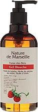Парфюми, Парфюмерия, козметика Душ гел с натурални масла и аромат на ягода - Nature de Marseille Strawberries Shower Gel