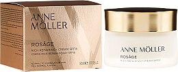 Парфюмерия и Козметика Крем за лице - Anne Moller Rosage Rich Repairing Cream SPF15