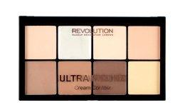 Парфюми, Парфюмерия, козметика Палитра за контуриране - Makeup Revolution HD Pro Cream Contour
