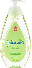 Парфюмерия и Козметика Детски шампоан с лайка (с дозатор) - Johnson's Baby Chamomile