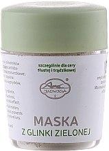 Парфюми, Парфюмерия, козметика Минерална маска за лице от зелена глина - Jadwiga Face Mask