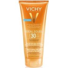 Парфюми, Парфюмерия, козметика Слънцезащитен гел за тяло - Vichy Ideal Soleil Ultra-Melting Milk Gel SPF 30