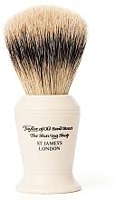 Парфюмерия и Козметика Четка за бръснене, S376 - Taylor of Old Bond Street Shaving Brush Super Badger size L