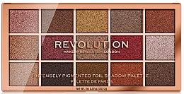 Парфюмерия и Козметика Палитра сенки за очи - Makeup Revolution Foil Frenzy Eye Shadow Palette