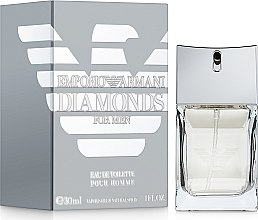 Парфюми, Парфюмерия, козметика Giorgio Armani Emporio Armani Diamonds for Men - Тоалетна вода