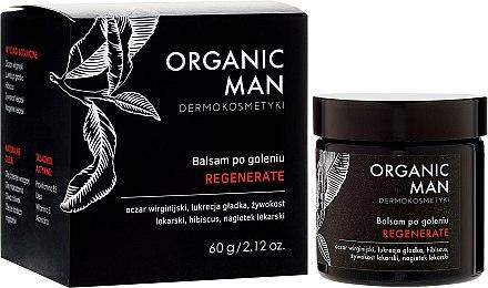 Възстановяващ балсам за след бръснене - Organic Life Dermocosmetics Man — снимка N1