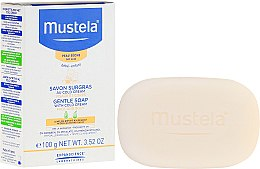 Парфюмерия и Козметика Сапун - Mustela Surgras Au Cold Gentle Soap With Cold Cream