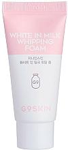 Парфюмерия и Козметика Изсветляваща измиваща пяна за лице - G9Skin White In Milk Whipping Foam (мини)