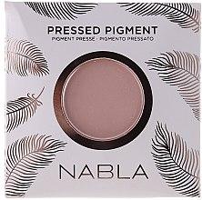 Парфюми, Парфюмерия, козметика Матови сенки за очи - Nabla Pressed Pigment Feather Edition Matte Refill Eyeshadow (пълнител)