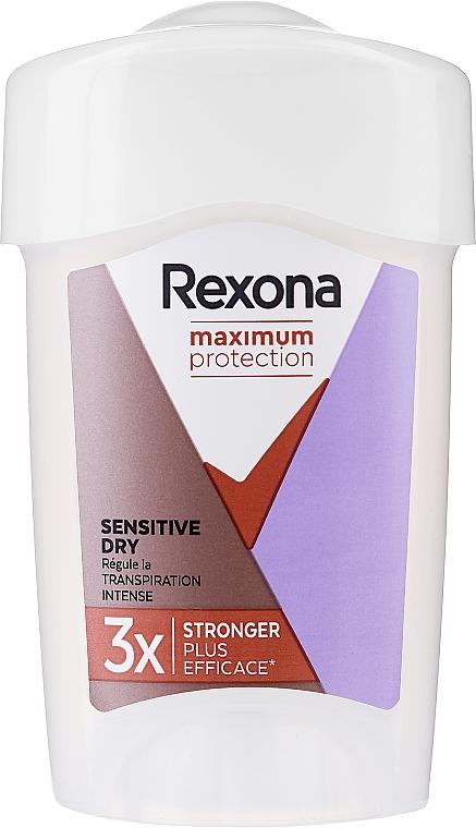 Стик дезодорант за чувствителна кожа - Rexona Maximum Protection Sensitive Dry