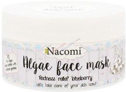 """Парфюмерия и Козметика Алгинатна маска за лице """"Боровинка"""" - Nacomi Professional Face Mask"""