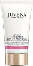 Парфюми, Парфюмерия, козметика Подмладяващ подхранващ концентрат за шия и деколте - Juvena Juvelia Nutri Restore Decollete Concentrate (тестер)