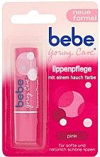 Парфюми, Парфюмерия, козметика Балсам за устни - Bebe Young Care Pink