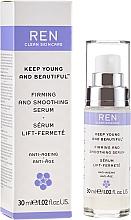 Парфюмерия и Козметика Укрепващ и изглаждащ серум за лице - Ren Keep Young and Beautiful Smoothing Serum