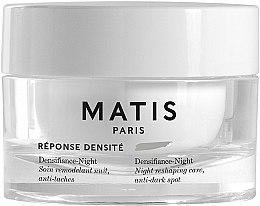 Парфюмерия и Козметика Нощен крем за лице против черни точки - Matis Reponse Densite Densifiance-Night