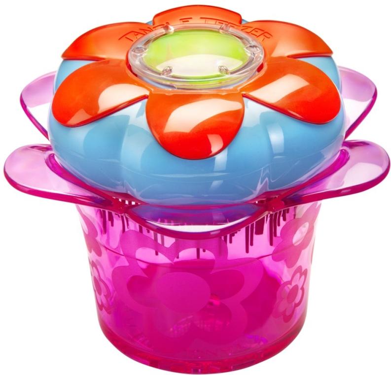 Четка за коса - Tangle Teezer Magic Flowerpot Pink and Blue Brush — снимка N1