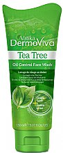 Парфюми, Парфюмерия, козметика Измиващо гел за лице - Dabur Vatika DermoViva Tea Tree Oil Control Face Wash