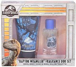 Парфюмерия и Козметика Corsair Jurassic World - Комплект (тоал. вода/50ml+душ гел/150ml)