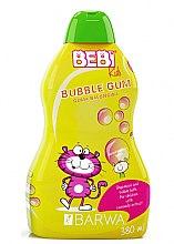 Парфюми, Парфюмерия, козметика Шампоан и пяна за вана с аромат на дъвка 2 в 1 - Barwa Bebi Kids Shampoo And Bubble Bath