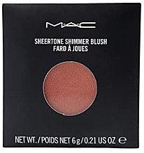 Парфюмерия и Козметика Руж за лице с блестящи частици - MAC Sheertone Shimmer Blush Refill (пълнител)