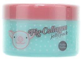 Парфюмерия и Козметика Нощна колагенова маска за лице - Holika Holika Pig-Collagen Jelly Pack