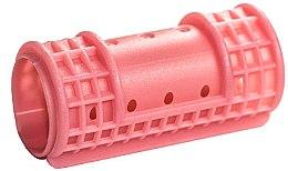 Парфюми, Парфюмерия, козметика Ролки за коса 28/65 мм, розови - Ronney Hollow Magntic Rollers