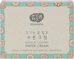 Парфюмерия и Козметика Хидратиращ крем за лице - Whamisa Organic Flowers Water Cream