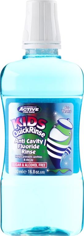 Вода за уста за деца - Beauty Formulas Active Oral Care Quick Rinse