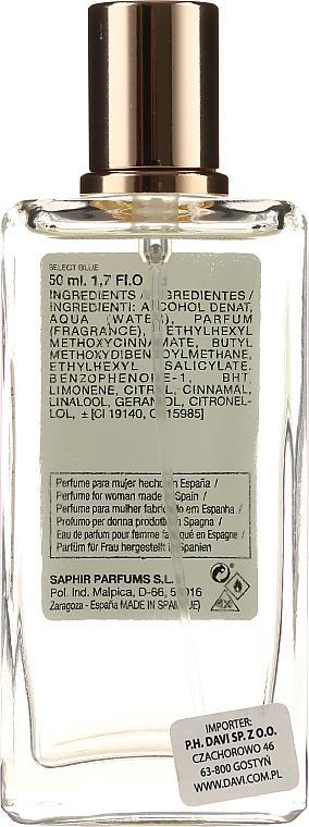 Saphir Parfums Select Blue - Парфюмна вода — снимка N2