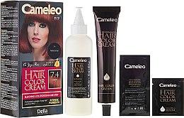 Парфюми, Парфюмерия, козметика Перманентна боя за коса с натурални масла - Delia Cameleo Omega +