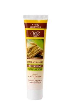 """Крем за лице """"Пшеничен"""", овлажняващ - Iris Cosmetic — снимка N1"""