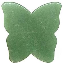 Парфюмерия и Козметика Масажор за лице - Crystallove Butterfly Aventurine Gua Sha