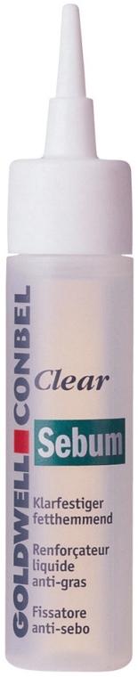Серум за мазна коса - Goldwell Conbel Clear Cleaner Sebum With Anti-Fat Effect — снимка N1