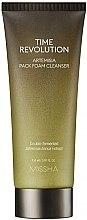 Парфюми, Парфюмерия, козметика Почистваща антистарееща маска-пяна за лице - Missha Time Revolution Artemisia Pack Foam Cleanser