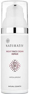 Нощен крем за лице - Naturativ Facial Night Cream — снимка N1