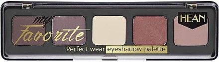 Палитра сенки за очи - Hean My favorite Eye Shadow Palette — снимка N1