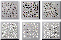 Парфюми, Парфюмерия, козметика Комплект лепенки за нокти 42737 - Top Choice Nail Decorations Stickers Set