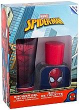 Парфюмерия и Козметика Air-Val International Spiderman - Комплект (edt/30ml + sh/gel/70ml)