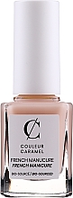 Парфюмерия и Козметика Лак за нокти - Couleur Caramel French Manicure Nail Lacquer