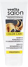 Парфюмерия и Козметика Шампоан за руси коси - Venita Salon Professional Brightening Shampoo