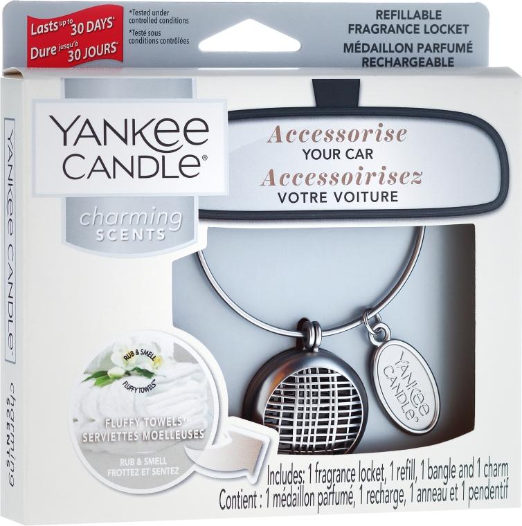 Ароматизатор за кола - Yankee Candle Fluffy Towels Linear — снимка N1