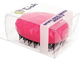 Парфюми, Парфюмерия, козметика Четка за коса, розова - Twish Spiky 2 Hair Brush Hot Pink