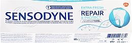 """Парфюмерия и Козметика Паста за зъби """"Възстановяване и защита"""" - Sensodyne Repair&Protect Extra Fresh"""