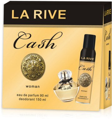La Rive Cash Woman - Комплект (парф. вода/90ml + дезодорант/150ml)