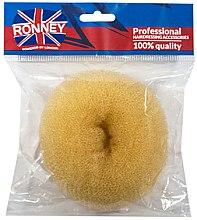 Парфюми, Парфюмерия, козметика Гъба за кок, 11х4.5 см, бежова - Ronney Professional Hair Bun