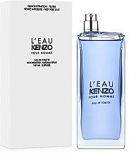 Kenzo L'Eau par Kenzo Pour Homme - Тоалетна вода (тестер без капачка)  — снимка N2