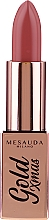 Парфюмерия и Козметика Червило за устни - Mesauda Milano Gold Xmas Lipstick