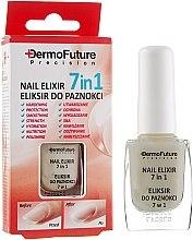 Подхранващ еликсир за ноктите 7в1 - Dermofuture Precision Nail Elixir 7in1 — снимка N2