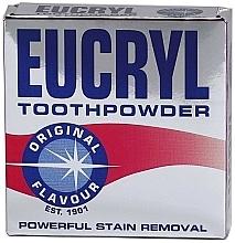 Парфюмерия и Козметика Прах за зъби - Eucryl Toothpowder Original